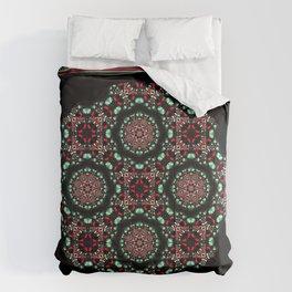Holiday Mandala Comforters