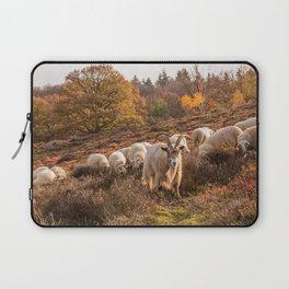 Goat in sheep herd Laptop Sleeve