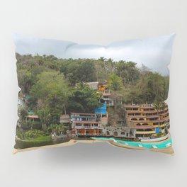 Dreamy Mexican Beach Day Pillow Sham