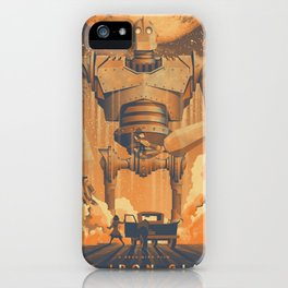 The Iron Giant Movie Poster iPhone Case