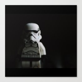 Dark Trooper Canvas Print