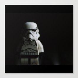 Dark Trooper Canvas Print