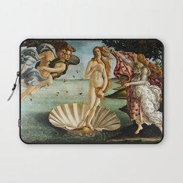 Iconic Sandro Botticelli The Birth of Venus Laptop Sleeve