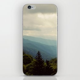 THE LIGHT THROUGH THE CLOUDS iPhone Skin