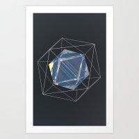 night sky Art Prints featuring Night Sky by アーティスト