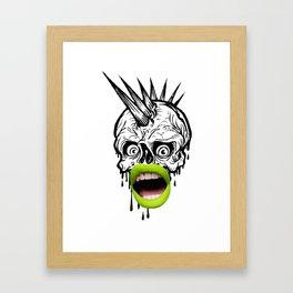 Wh#t? Framed Art Print