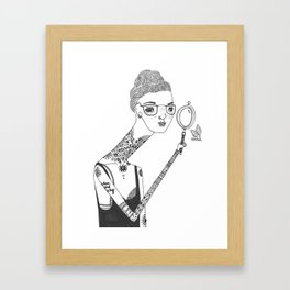 It's all in the details Framed Art Print