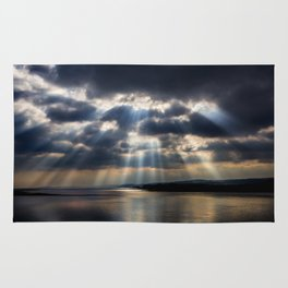 Sunbeams over Exmouth Rug