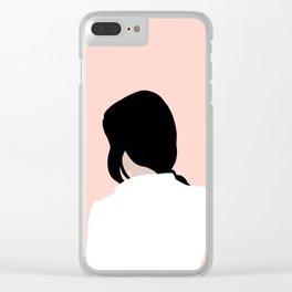 turn around, dezi Clear iPhone Case