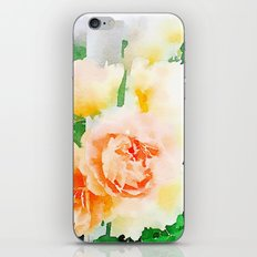 Cottage Roses iPhone Skin