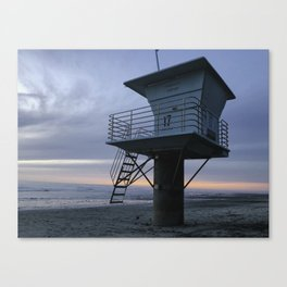 San Elijo State Beach Canvas Print