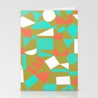 brooklyn Stationery Cards featuring Brooklyn by Jenn Kitagawa
