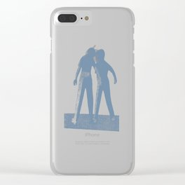 Brothers duo Clear iPhone Case