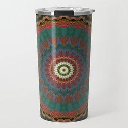 Basal Color Mandala 12 Travel Mug