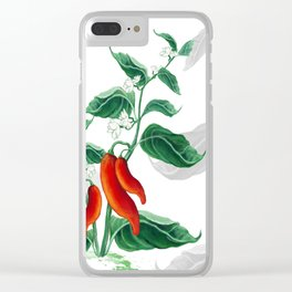 Chili Clear iPhone Case