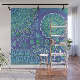 Age of Aquarius Wall Mural
