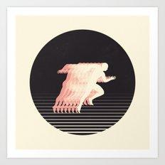 Terrestrial Locomotion Art Print