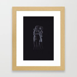 The Hug (Harry Styles and Louis Tomlinson) Framed Art Print