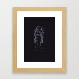 The Hug (Harry Styles and Louis Tomlinson) Framed Art Print