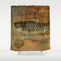 spawn Shower Curtains featuring 鯉 幟 (The Koinobori) by Fernando Vieira