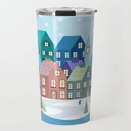 Snowglobe Travel Mug