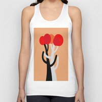blankets Tank Tops featuring Let's dance! by Roxana Jordan