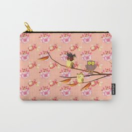 Whimsical Decorative Owls By Liane Wright Carry-All Pouch