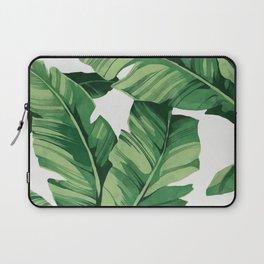 Tropical banana leaves Laptop Sleeve