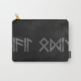 Hail Odin in Runic. Carry-All Pouch