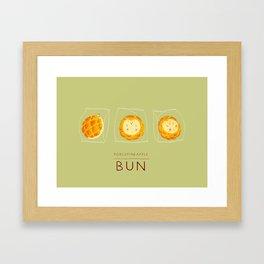 Porcupineapple Bun Framed Art Print