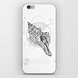Geometry of a Charonia tritonis iPhone Skin