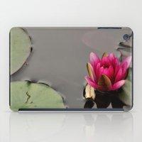 lotus flower iPad Cases featuring Lotus by Stevyn Llewellyn