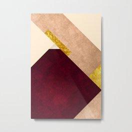 Modern Mountain No3-P1 Metal Print