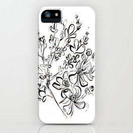 Rue - Herb of Grace iPhone Case