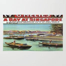 Vintage poster - Singapore Rug
