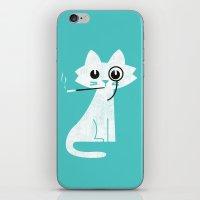 budi iPhone & iPod Skins featuring Mark - Aristo-Cat by Picomodi