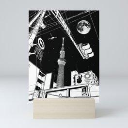 Night in Tokyo 2020 Mini Art Print