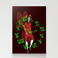 homestuck Stationery Cards featuring Maid of Time  by Paula Urruti