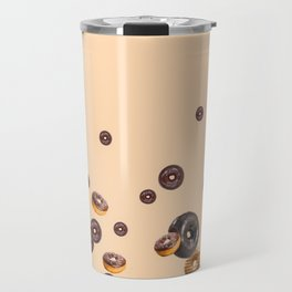 LOVE MY CHOCOLATE  DONUTS Travel Mug
