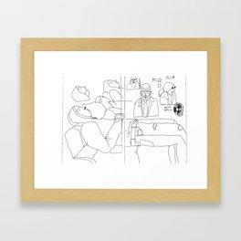 Jury Framed Art Print