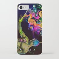 alchemy iPhone & iPod Cases featuring Alchemy Resonance by Archan Nair