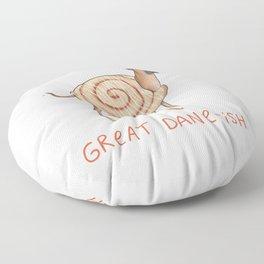 Great Dane-ish Floor Pillow