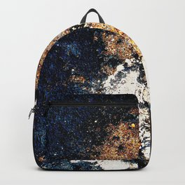 Alien Continents ruined wall texture grunge Backpack