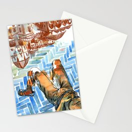 Asleep in Foreign Cities Stationery Cards