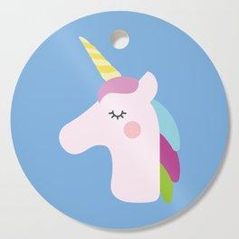 Adorable Unicorn Cutting Board