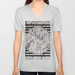 Attraction - circle graphic Unisex V-Neck