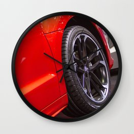 Peugeot RCZ Red Door Wall Clock