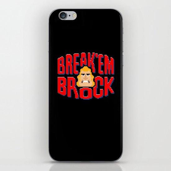Break'em Brock iPhone & iPod Skin