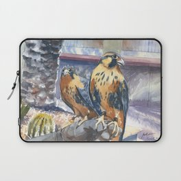 Two Baby Falcons Laptop Sleeve