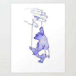 The Dancing Bear Art Print